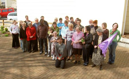 St Barnabas church family - March 09