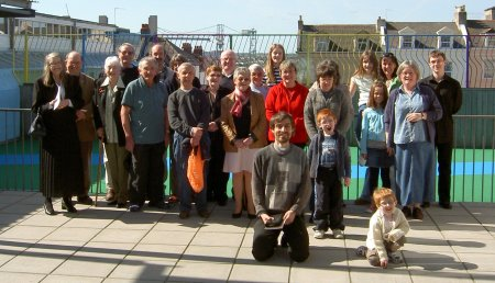 The St Michael's church family - March 2009