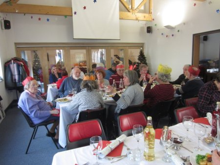 Everyone had a lovely time together - and the food wasn't bad, either!