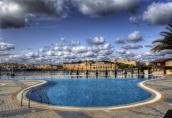 Hotel Pool, Valletta, Malta