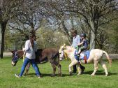 The children enjoyed riding Polo
