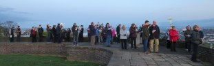 Folk from all the local churches gathered ...