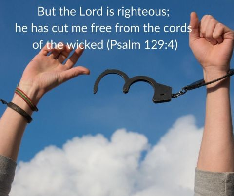 But the Lord is righteous